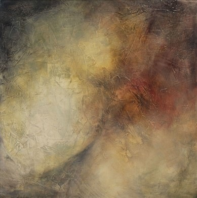 Karen Tabak Artist - On the Inside (510 x 510mm) Acrylic & oil glaze on canvas