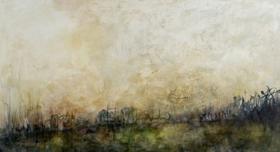 Karen Tabak Artist - Emerging (840 x 1520mm) Acrylic & oil glaze on canvas.