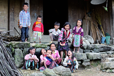 face of vietnam - Red Hmong Sin Ho Vay Commune, Lai Chau