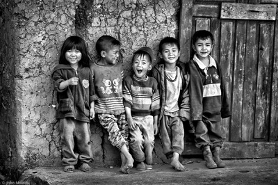 face of vietnam - Ha Nhi children in Muong So Village, Y Ty, Lao Cai