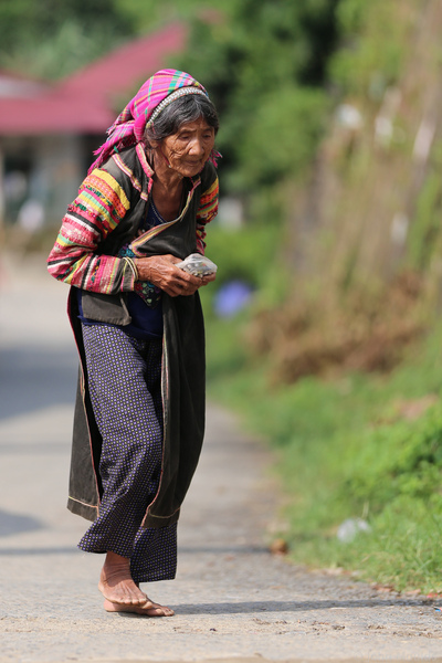 face of vietnam - La Hu lady Muong Te, Lai Chau