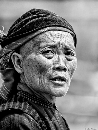 face of vietnam - Man in Meo Vac Market, Ha Giang