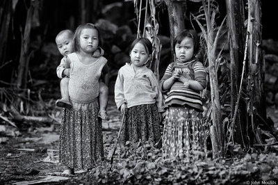 face of vietnam - Little Ladies of Lung Lu Dong Van Mountain, Ha Giang
