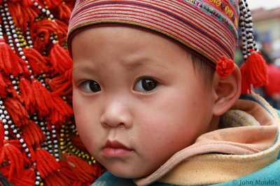 face of vietnam - Sapa child, Lao Cai