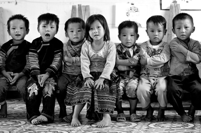 face of vietnam - Khao Mang Preschool. Mu Cang Chai