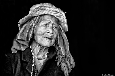 face of vietnam - Mrs Ka Kiep, Pa Co ethnic lady of Hong Quang Townlete A Luoi