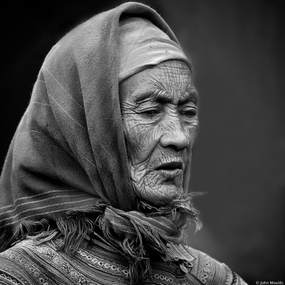face of vietnam - Lady in Bac Ha Market, Lao Cai