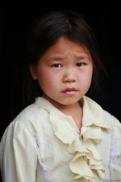 face of vietnam - Girl in the Market in Meo Vac, Ha Giang