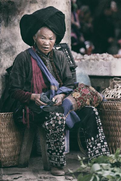 face of vietnam - Black Dao, Sin Ho Market, Lai Chau
