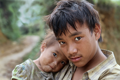 face of vietnam - Boy from Ban Pho Village, Bac Ha, Lao Cai