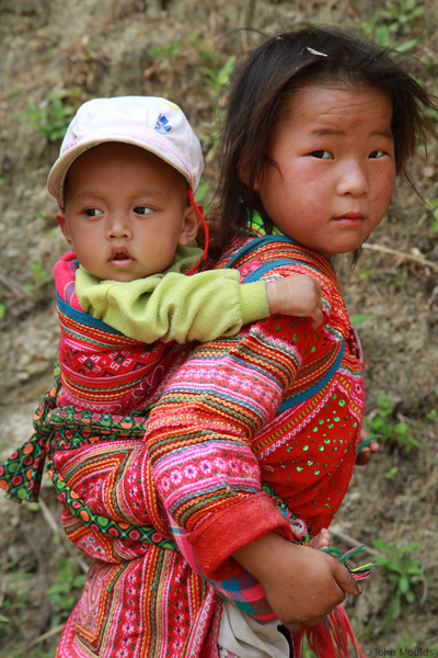 face of vietnam - Siblings in Hoang Su Phi, Ha Giang