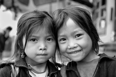 face of vietnam - Sapa girls, Lao Cai