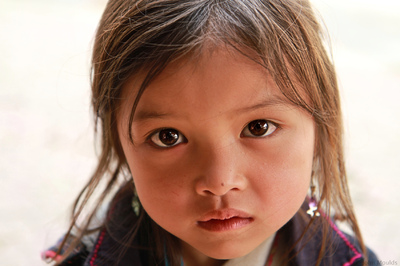face of vietnam - Sapa girl