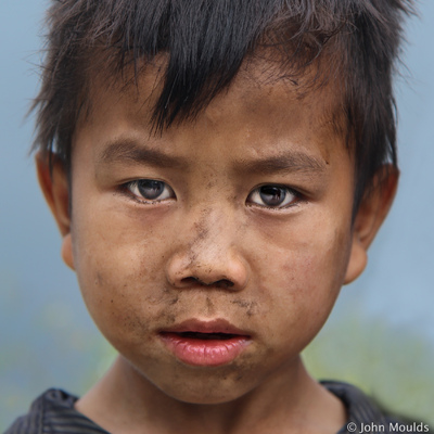face of vietnam - Boy on the Ma Li Peng Pass, Ha Giang