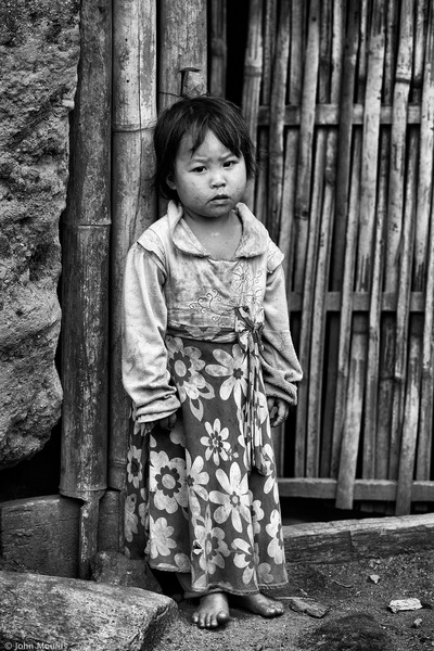 face of vietnam - Ha Nhi child in Ho Nhi Village, A Mu Sung, Y Ty, Lao Cai