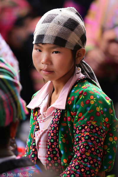 face of vietnam - Girl Sin Ho Market, Lai Chau