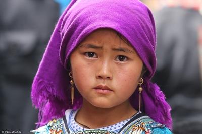 face of vietnam - Violet Muong Hum Market, Lao Cai