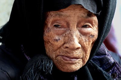 face of vietnam - Lady in Muong Khuong Market, Lao Cai