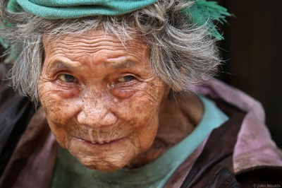 face of vietnam - Lady in Can Ty area, Quan Ba District, Ha Giang