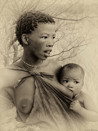 face of vietnam - Bushman of the Kalahari