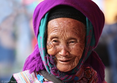 face of vietnam - Pha Long Market, Lao Cai
