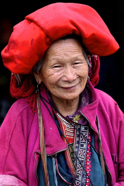 face of vietnam - Lady in Ta Phin, Sapa Region, Lao Cai