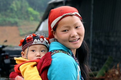 face of vietnam - Red Dao, Ta Phin, Sapa Region