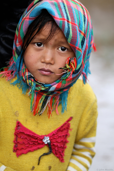 face of vietnam - Girl in the market, Meo Vac, Ha Giang