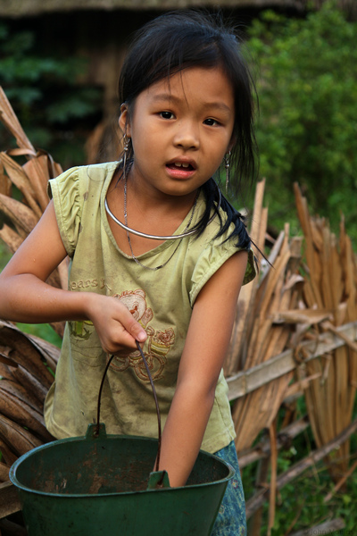 face of vietnam - Tay girl in Ha Giang
