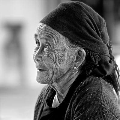face of vietnam - Old lady in Bac Ha Market, Lao Cai
