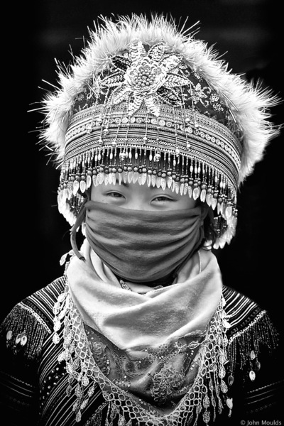 face of vietnam - Hmong in Pha Long Market, Lao Cai. Published on the Front Page of 1x.com