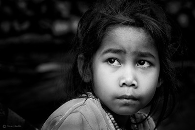 face of vietnam - Kha mu girl in Hoayphay Village Luang Prabang
