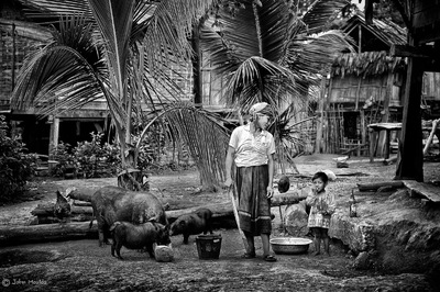 face of vietnam - Thai Yang people in Bountai District