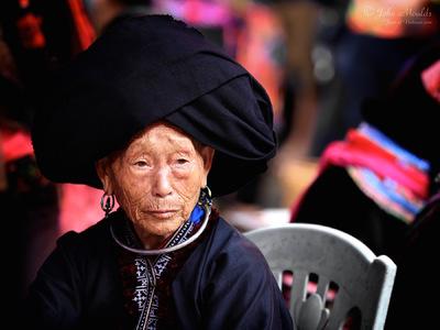 face of vietnam - Dao Khau, in Sin Ho market