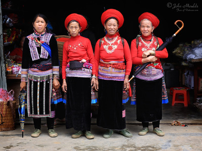 face of vietnam - Red Hmong in Sin Ho Town