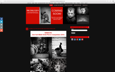 face of vietnam - Front Page after the Black & White Child Photo Awards, 2014 using my Ha Nhi photo on the cover.