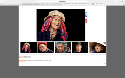 face of vietnam - My series of 5 photos titled The Ethnic Face of Vietnam which received an Honourable Mention in the IPA ( International Photography Awards ) competition, Amateur Portrait Section, 2014.