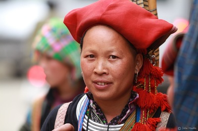 face of vietnam - Red Dao, Sapa