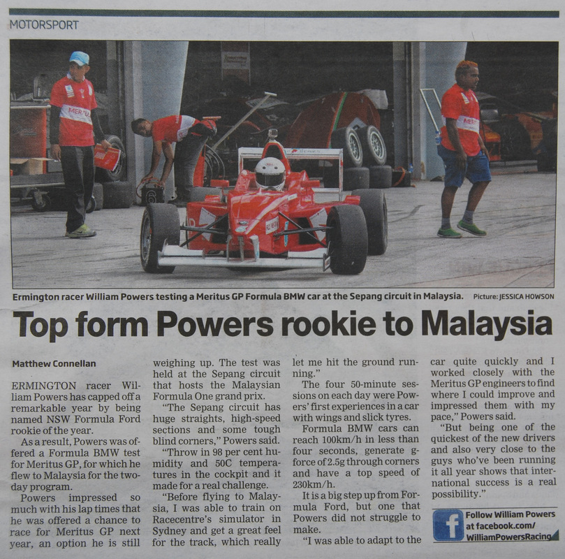 William Powers Racing - Click to expand