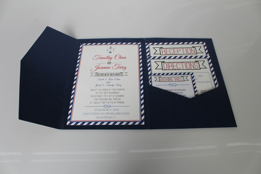Kimberly Errey - Invitation set