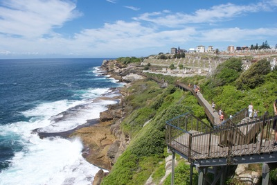 The Other Side of Perfect - Bondi to Coogee Coastal Walk, Digital Photograph, Sydney, Australia, March 2016
