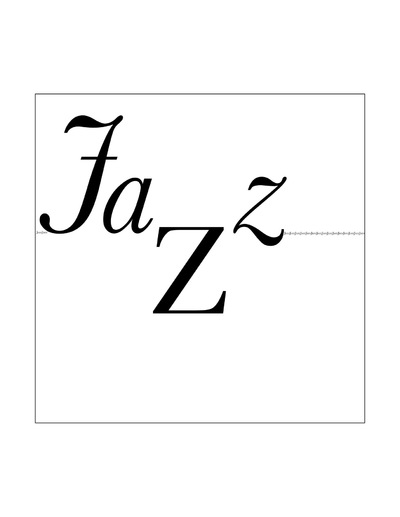 The Other Side of Perfect - Jazz Music Exploration, Typography, Design 2, November 2015