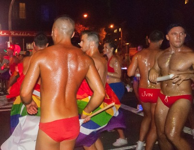 The Other Side of Perfect - Sydney Gay and Lesbian Mardi Gras, Digital Photograph, Darlinghurst, NSW, Australia, March 2016
