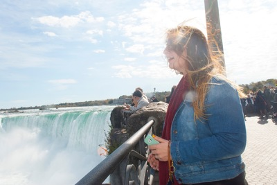The Other Side of Perfect - Caitlin, Digital Photograph, Niagara Falls, October 2015