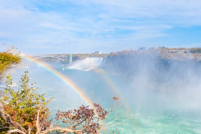 The Other Side of Perfect - Digital Photograph, Niagara Falls, October 2015