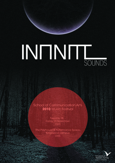 TJHA DESIGN - Infinite sounds poster draft