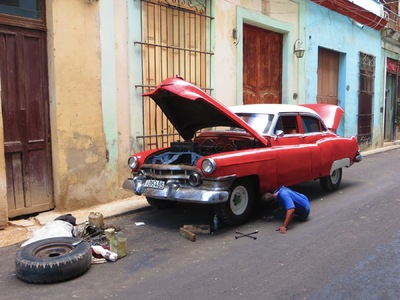 COLOUR-AND-SHAPE Photography - Cuba - Intact, 2015 (digital)
