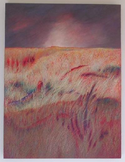 annparry art - dry landscape