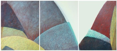 annparry art - triptych - valley