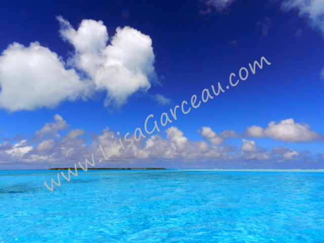 Bespoke Art by Liisa Garceau - Crystal Clear San Blas Islands.